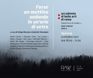 RAW invito elettronicoa