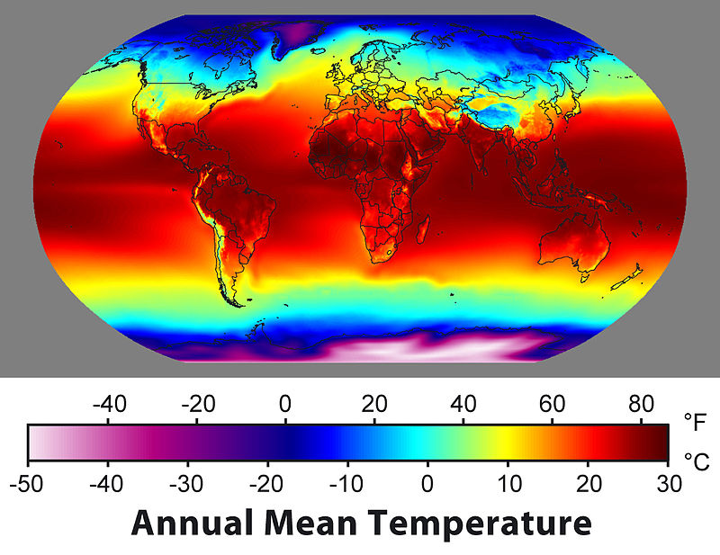800px Annual Average Temperature Map