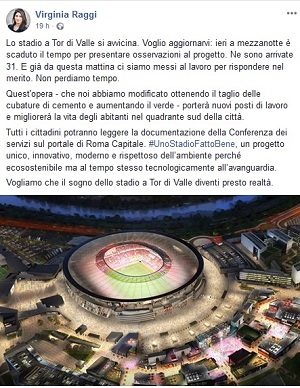 Post Raggi Stadio
