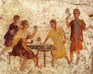 1024px Pompeii Osteria della Via di Mercurio Dice Players